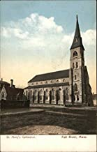St. Mary's Cathedral Fall River, Massachusetts Original Vintage Postcard
