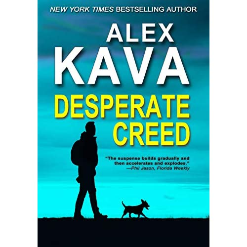DESPERATE CREED: (Book 5 Ryder Creed K-9 Mystery Series) (Ryder Creed K-9 Mysteries) (English Edition)