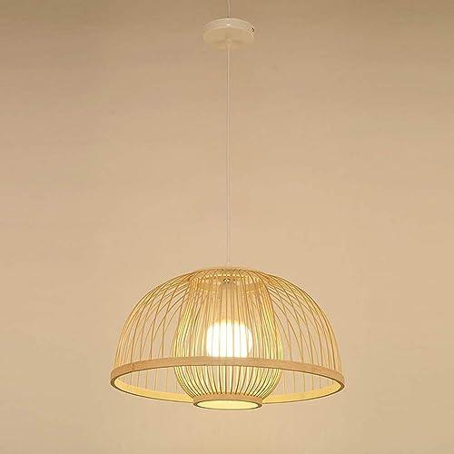 Lustre tissé à la main en rougein fait à la main de forme pendentife de forme semi-circulaire, luminaire d'éclairage de plafond de décoration de chambre à coucher