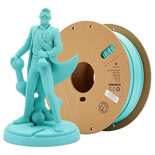PLA-Filament 1,75 mm, 3D-Druckfilament PLA für 3D-Drucker, 1 kg 1 Spule-Blau