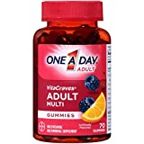 One A Day VitaCraves Adult Multivitamin Gummies, Supplement with Vitamin A, Vitamin C, Vitamin D, Vitamin E and Zinc for Immune Health Support* & more, 70 Count