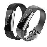 Bepack Fitbit Alta HR Bracelets Femme Homme, Fitbit Alta et Fitbit Alta HR Sport Remplacement en Silicone, Accessoires de Montres...