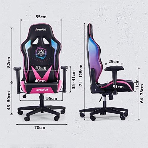 AutoFull Gaming Stuhl Schreibtischstuhl Bild 5*