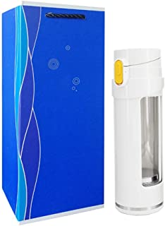 YUANSHOPPING Hydrogen-rich alkaline mineral water bottle material can generate hydrogen portable anti-aging health Cup (Co...