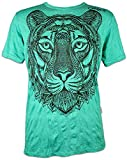 Sure - Camiseta para hombre, diseño tribal verde menta L