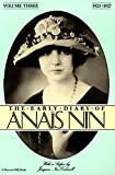 The Early Diary of Anaïs Nin, 1923–1927 (The Early Diaries of Anaïs Nin Book 3) (English Edition)