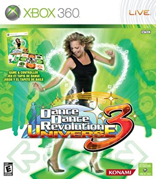 Dance Dance Revolution Universe 3 with Dance Mat - Xbox 360