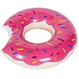Flotador en forma de donut, hinchable, 120cm, morado, 120 cm