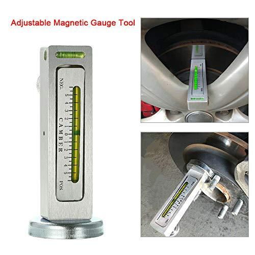 Vzer gauge attrezzo magnetico universale per auto//camion camber Castor Strut Wheel Alignment