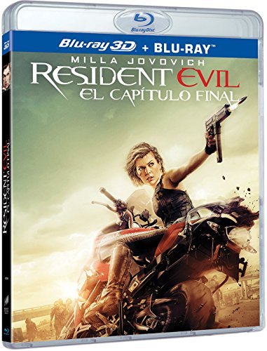 Resident Evil: El Capítulo Final (BD 3D + BD) [Blu-ray]