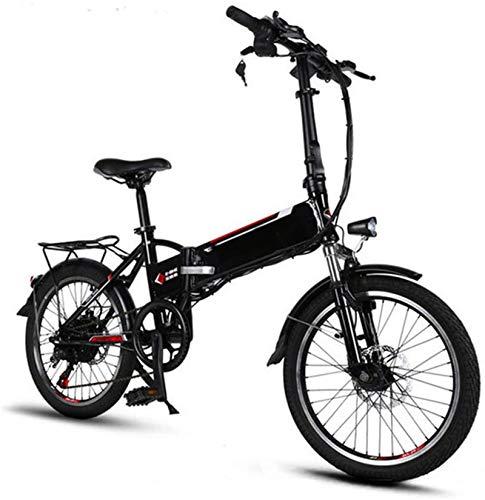 Alta velocidad Marco de aluminio de 20 pulgadas bicicleta eléctrica plegable de 6 velocidades E-bici mini 250w extraíble batería de litio de bajo paso adultos de la bicicleta del viajero Ebike Ciudad