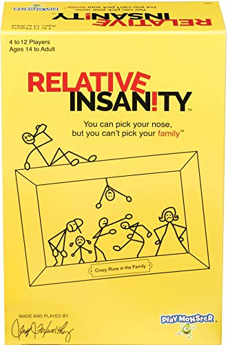 Relative Insanity Board Game Now $9.12 (Was $19.84)