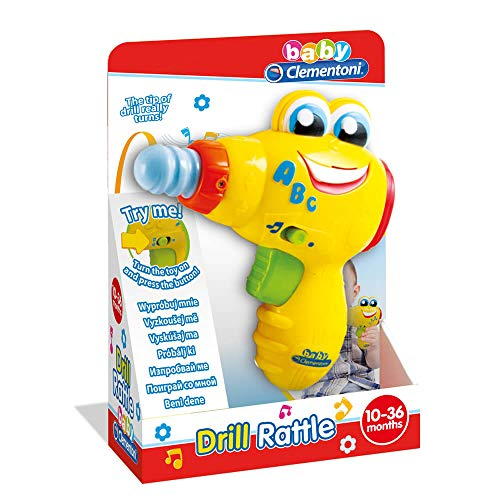 Clementoni perceuse électronique apprentissage et jouets d'activité