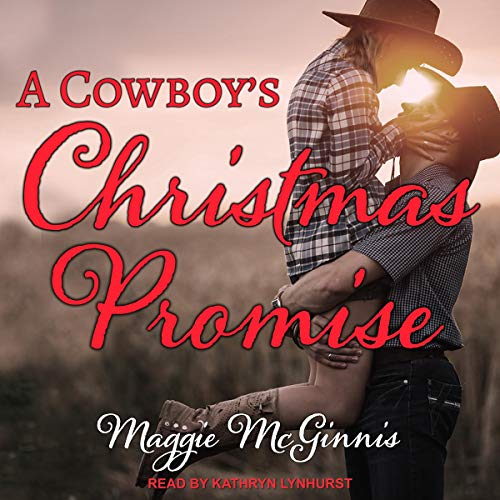 A Cowboy's Christmas Promise audiobook cover art