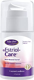 Life-Flo Estriol Care | Estrogen Cream w/ Estriol USP | Natural Solution | 2-oz Pump