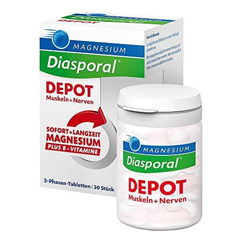 Magnesium Diasporal DEPOT Muskel und Nerven Tabl, 240 g