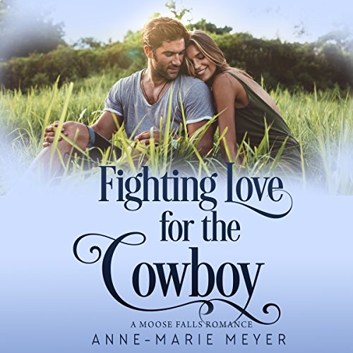 Fighting Love for the Cowboy audiobook cover art