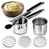 Best Potato Ricers - Potato Ricer Stainless Steel Press Hand Held Heavy Review
