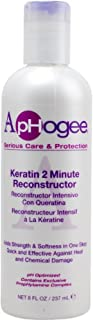 Aphogee Keratin 2 Minute Reconstructor, 8 oz (Pack of 2)