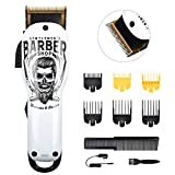 Best Hair Clippers For Fades - BESTBOMG Updated Version Professional Hair Clippers Cordless Haircut Review