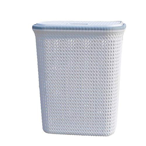 Tianzhi Huafeng Storage baskets, hotel storage art storage baskets, square towel baskets, towel portable boxes, tidy baskets, household bathroom clothes baskets, breathable mesh multifunctional storag