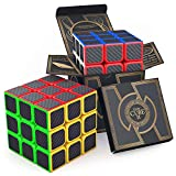 agreatlife superior carbon fiber speed cube - 3x3x3 cube brain teaser puzzle for boys, girls and