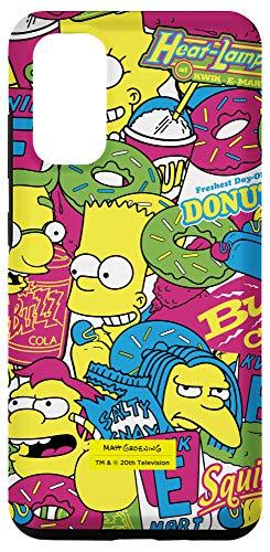 Galaxy S20 The Simpsons Bart Lisa Nelson Kwik-E-Mart Crew Case