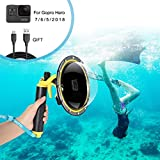 for GoPro Dome Port, GoPro Accessories for Dome GoPro Hero 5 6 7 2018 Black...