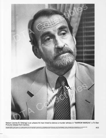 MOVIE PHOTO: Limited price NARROW Direct store MARGIN-1991-JAMES SIKKING-BW-8