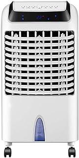 Móviles Evaporativos Ventiladores Ventilador De Aire Acondicionado Evaporativo Calefacción Y Refrigeración De Doble Uso Control Remoto 12H Temporizador 10L Tanque De Agua Grande 3 Velocidades 3 Ventil