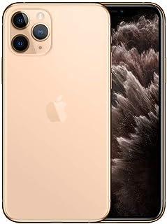 ابل ايفون 11 برو مع فيس تايم - 64 جيجا، 4 جيجا رام، الجيل الرابع ال تي اي، ذهبي، بشريحتي اتصال