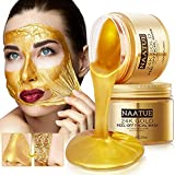 NAATUE 24K Gold Peel Off Facial Mask, Lifting and Smoothing, Skin...