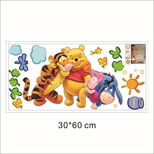 Winnie l'ourson Stickers muraux amovibles Winnie l'ourson et ses amis
