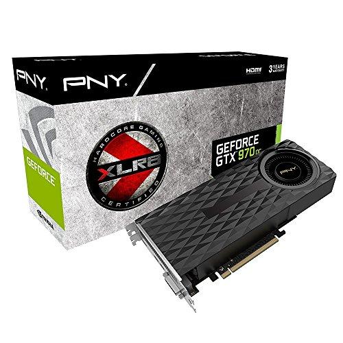 PNY GF970GTXBR4GEPB Nvidia GeForce GTX 970 4GB XLR8 OC PCI Express Grafikkarte