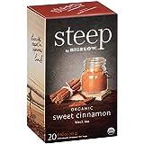 Steep by Bigelow Organic Sweet Cinnamon Black Tea 20 Count (Pack of 6)...