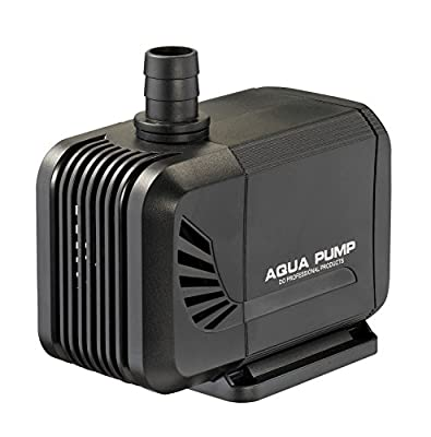 LNSTUDIO Pompe Submersible 1500L/H Mini Pompe à Eau pour Aquarium, Aquarium à Poissons, Fontaine à Eau, Culture hydroponique de Bassin