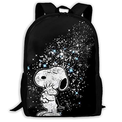 Custom Snoopy Sky Casual Backpack School Bag Travel Daypack Gift