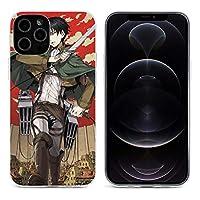 Tesany 進撃の巨人 進撃の巨人 全巻セット iphone12 ケース iphone12 iphone12 mini 透明な携帯カバー 滑り防止 軽量 ワイヤレス充電対応 指紋防止 薄型 ケース