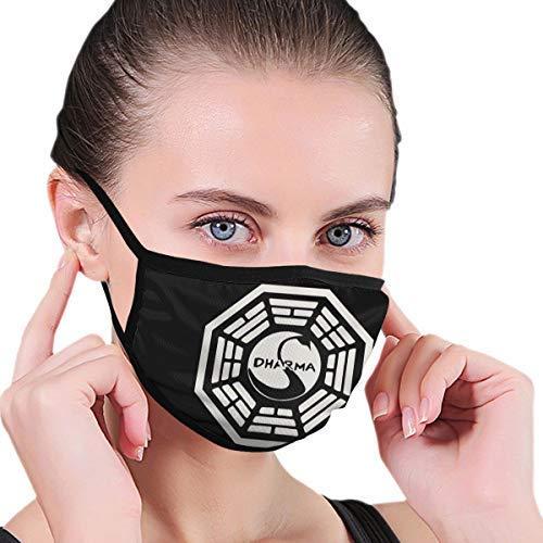 Logotipo de Dharma Swan Cubierta de Cara al Aire Libre Cubierta de Boca Escudo a Prueba de Viento Bufanda Bandana Hombres Mujer