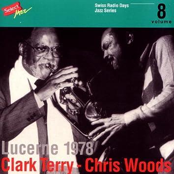 Clark Terry - Chris Woods, Lucerne 1978 / Swiss Radio Days, Jazz Series Vol.8