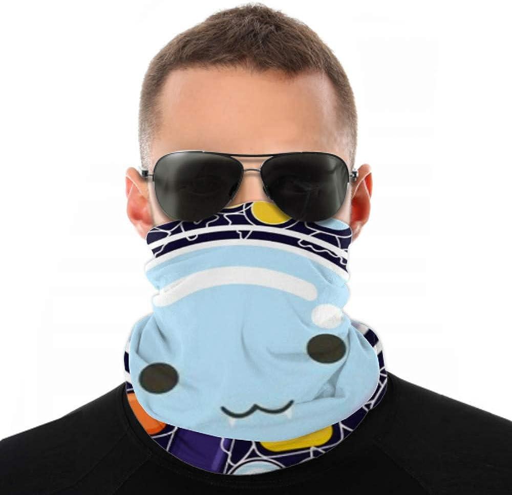 Headbands For Men Women Neck Gaiter, Face Mask, Headband, Scarf Candy Monster Vector Background Halloween Festival Turban Multi Scarf Double Sided Print Headband Wrap For Sport Outdoor
