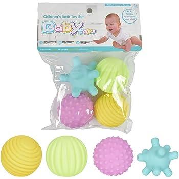 Daxoon Pelota Bolas sensoriales Juguetes de Balonmano para bebés ...