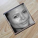 THANDIE NEWTON - Original Art Coaster #js003