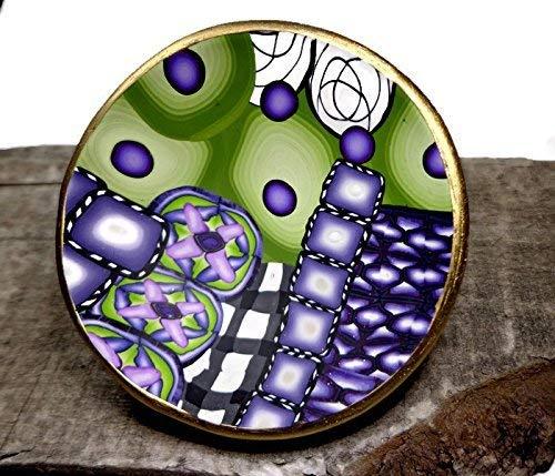 Polymer clay jewelrykeepsake bowl