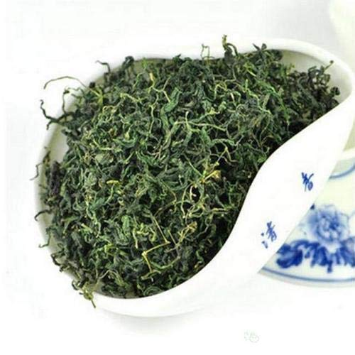 JQ 250g natürlicher Jiaogulan Tee getrocknet – Unsterblichkeitskraut, Wildwuchs ohne Stengel, stets frisch, natürliche Süße,