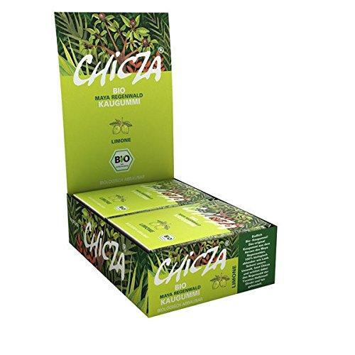 10er Pack CHICZA® Bio-Kaugummi Limone, 10x30 g