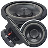 Car Vehicle Subwoofer Audio Speaker - 6 Inch Competition Grade Pressed Paper Cone, 4 Ohm Impedance, Advanced Air Flow, 400W Power for Stereo Sound System - Audiotek K706 (1 Subwoofer) PK1
