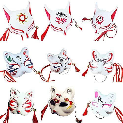 MFDHFS Accesorios de Halloween Casco de Moto Media máscara