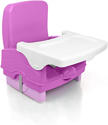 Cadeira de Refeição Portátil Smart, Cosco, Rosa