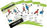 Stop! Fitness | Power Flex | Cartes d'entraînement | Version allemande | Carte 66 x 100 m...